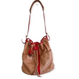 Pilcro And The Letterpress Leather Bucket Bag